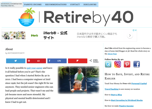 About Retire By 40